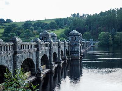 Lake Vyrnwy dam in Wales