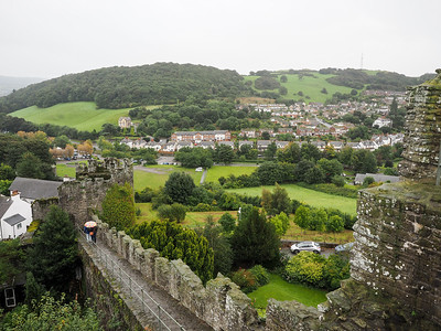 View from the Conwy town walls