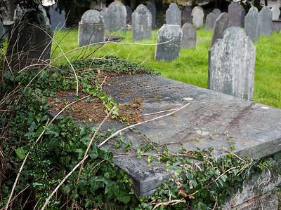 Graveyard in Betws-y-Coed, Wales