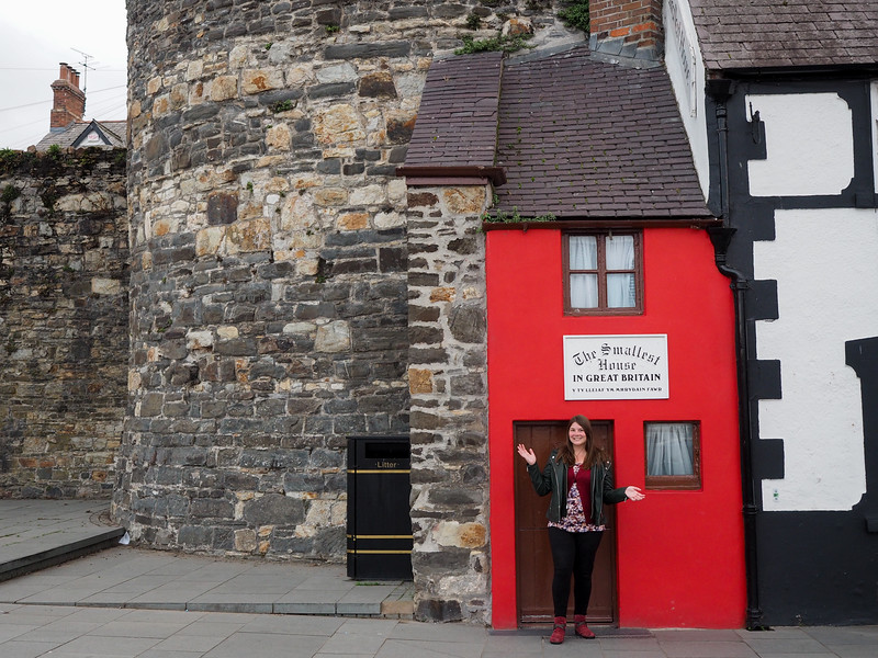 Smallest house in Great Britain in Conwy, Wales