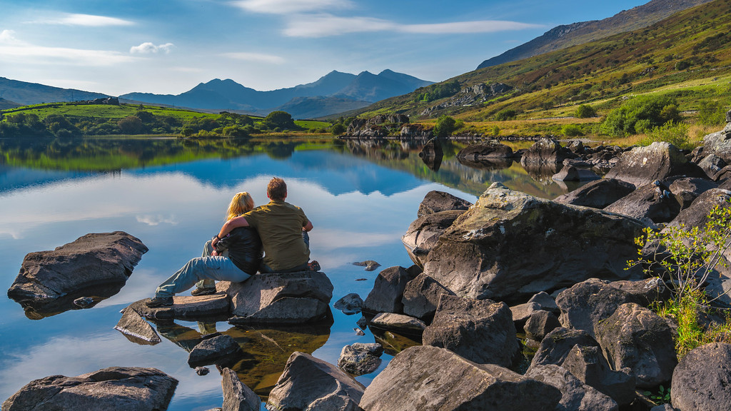 Snowdonia in Wales, United Kingdom