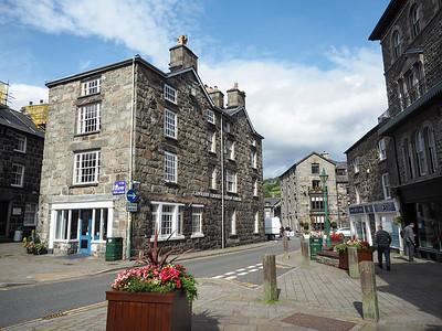 Dolgellau town in Wales