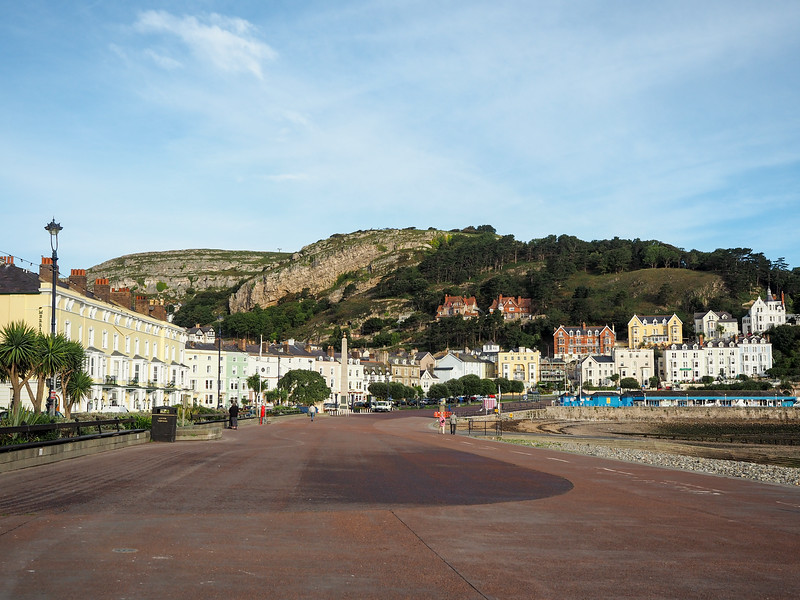 Seaside resort town of Llandudno, Wales