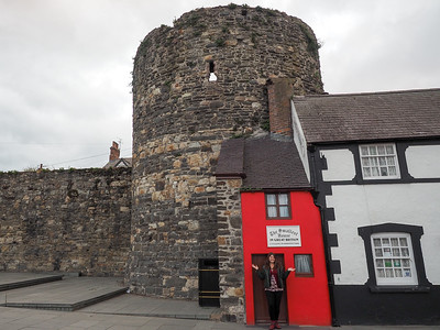 Smallest house in Great Britain in Wales