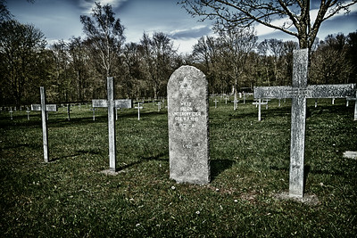 """Irony Cross"" Jewish grave, German Military Cemetery, Verdun Sector 2012"