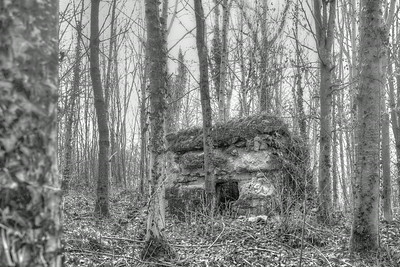 Bunkers, near US Military cemetery, Montfaucon