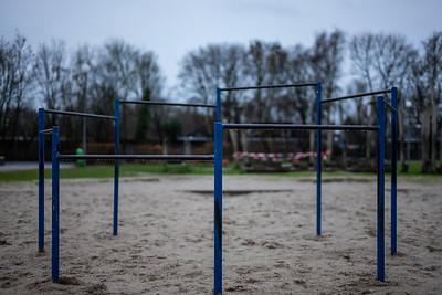 Playground in the Wilhelmshaven Wiesenhof school