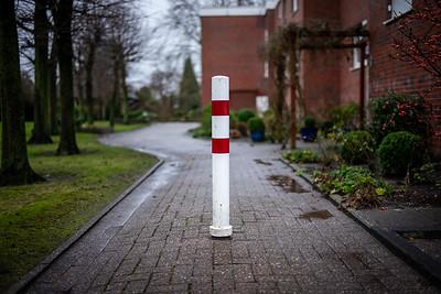 Pole in the Wilhelmshaven Wiesenhof area