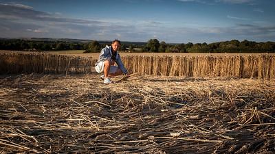 Chasing Crop Circles