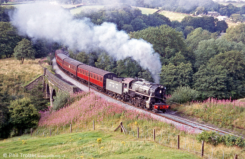 USA 'Austerity' 2-8-0 in action on the Keighley & Worth Valley Railway, approaching Mytholmes Tunnel.