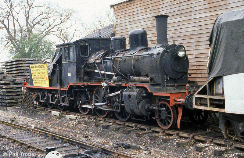 Norges Statsbaner - Norwegian State Railways (NSB) 2-6-0 no. 376, built by Nohab (no. 1163) in 1919 at the Kent & East Sussex Railway in May 1985.