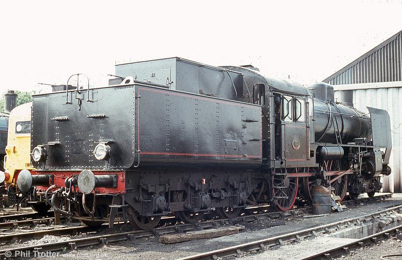 Statens Järnvägar (Swedish State Railways) B class 4-6-0 no. 101 at the Nene Valley Railway in July 1984.