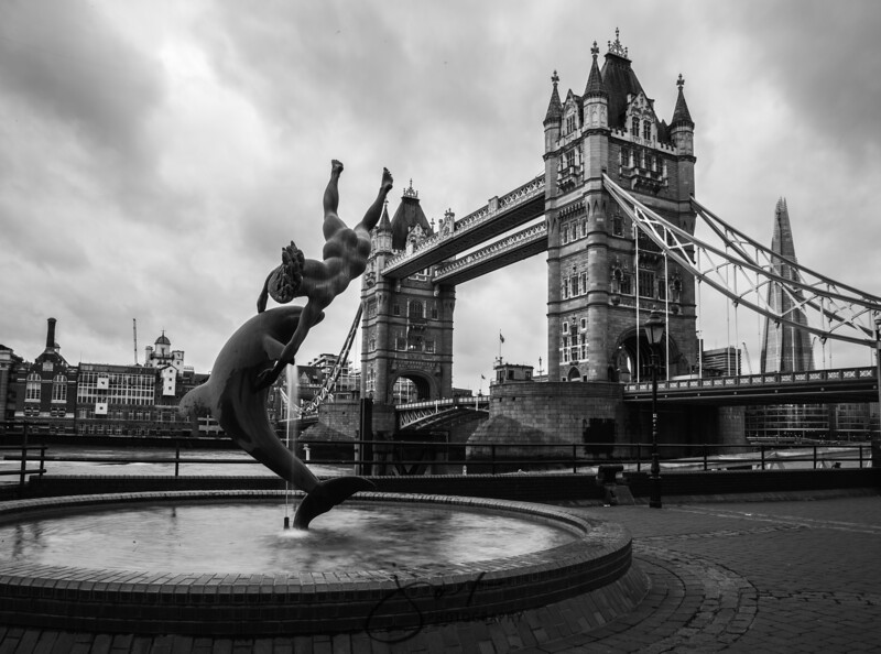 Tower Bridge B/W