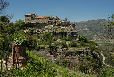 Siurana, cliffside village west of Barcelona