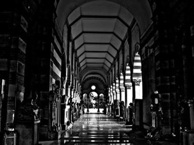 Cementerio Monumental Milano Italy.