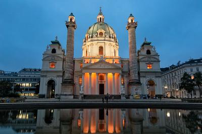 Karlskirche , Vienna