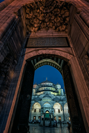 Blue Mosque Entry - Istanbul 2<br /> © Sharon Thomas