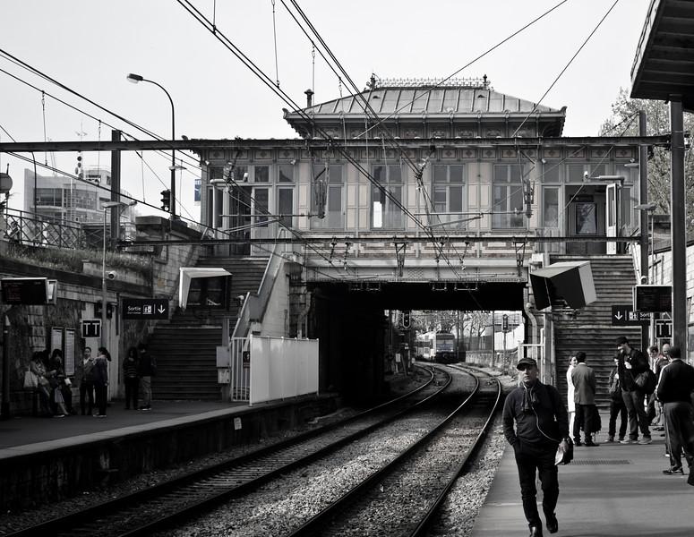 Le Train a Paris