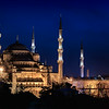 Blue Mosque at the Blue Hour<br /> © Sharon Thomas