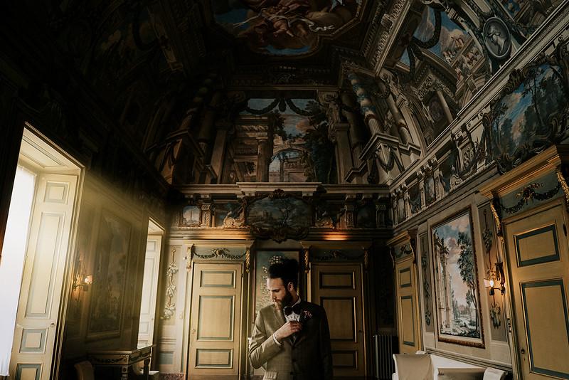 Elopement Wedding in Ferrara