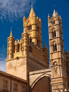 Duomo Di Palermo Sicily.
