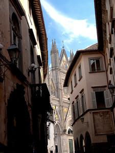 Duomo Of Orvieto Italy.