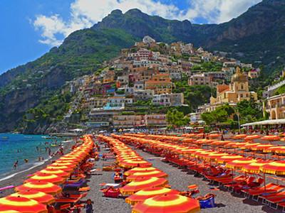 Amalfi Coast Positano Italy.