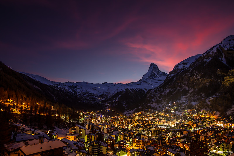 Matterhorn on Fire || Zermatt - Switzerland