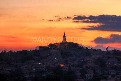 Monte Serra Sunset