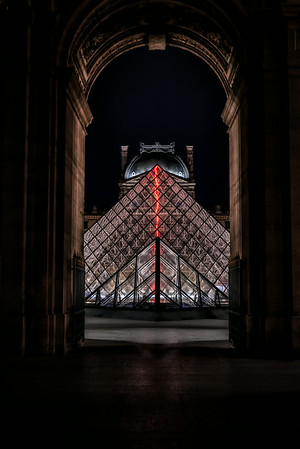 Louvre Pyramid - Night 2<br /> © Sharon Thomas