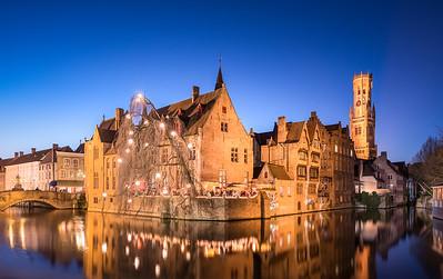 Blue Hour Bruges