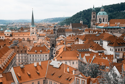 The Glorious Roof tops of Prague