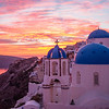 Santorini Sunset2