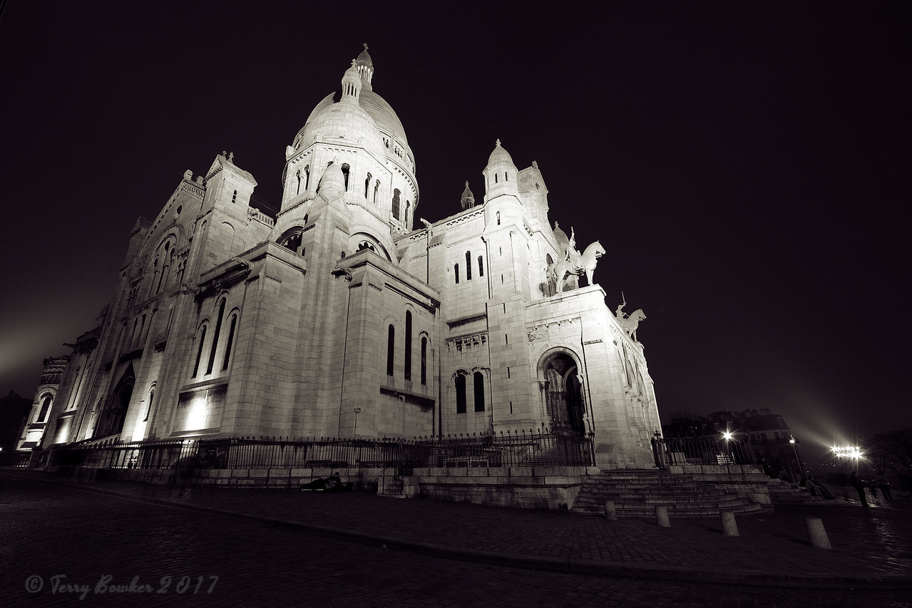 Sacre Coeur Basilica, Paris France.