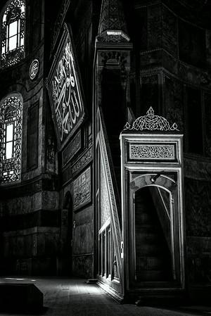 Hagia Sofia - Istanbul<br /> © Sharon Thomas