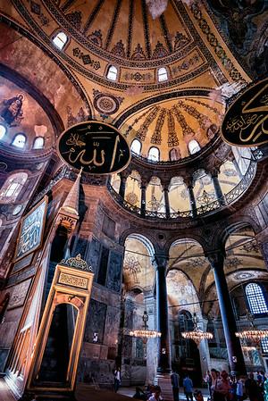 Hagia Sofia - Istanbul 2<br /> © Sharon Thomas