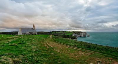Chapelle Notre-Dame de la Garde, Étretat, Normandy