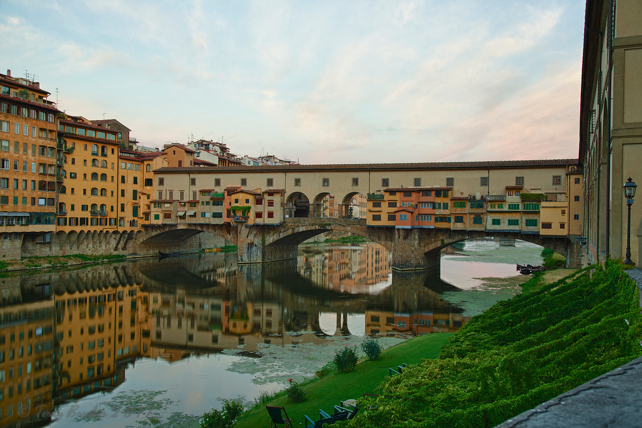 Ponte Vecchio, Florence, (Firenze) Italy