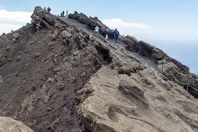 Volcanic pathway - on Teneguia, La Palma