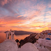 Santorini Sunset and church bells