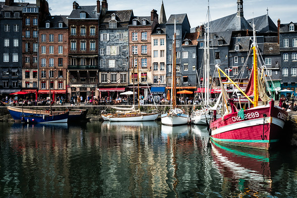 Honfleur - Normandy, France 2<br /> © Sharon Thomas