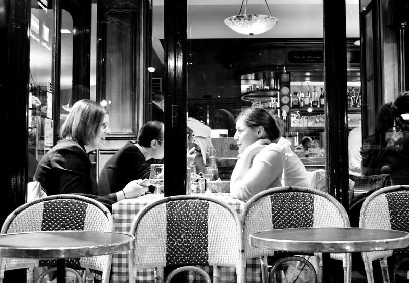 Parisian cafe