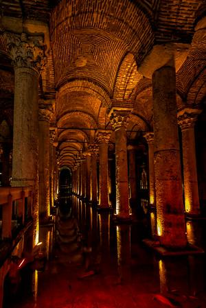 Basilica Cistern - Istanbul<br /> © Sharon Thomas