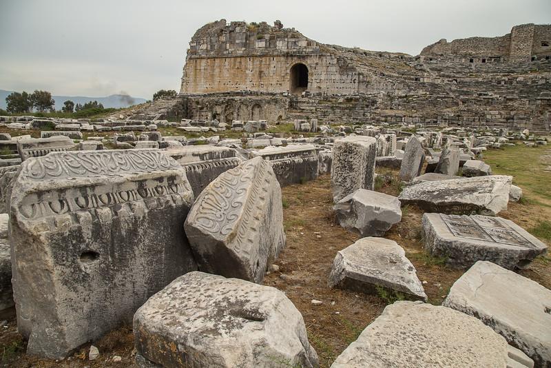 Miletus amphitheatre, near Ephesus, Turkey