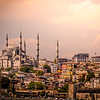 Morning at the Blue Mosque