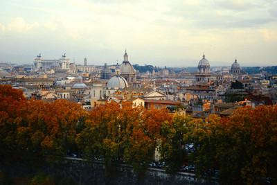 Fall Rome Italy