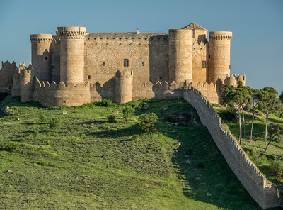 Castle in Belmonte, Spain