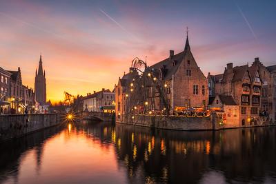 Bruges Aflame