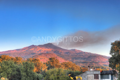 Mount Etna sunrise