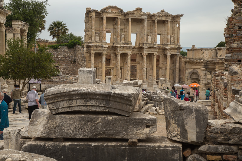 The library, Ephesus